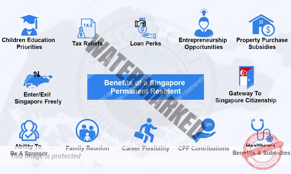 Benefits of Singapore Permanent Resident