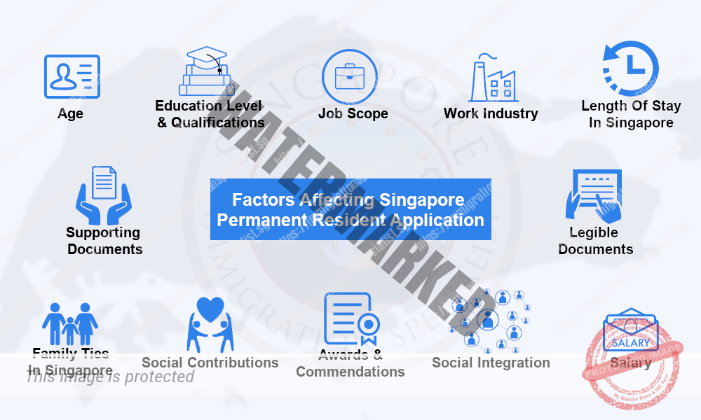 Factors Affecting Singapore Permanent Resident Application