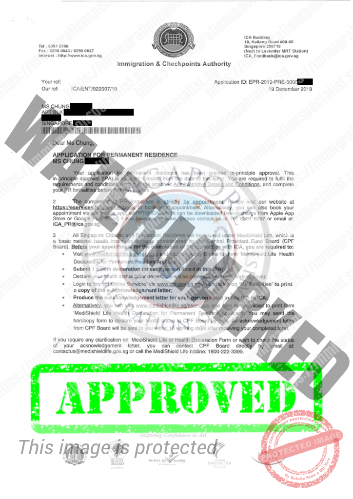 ICA Approval Letter 11