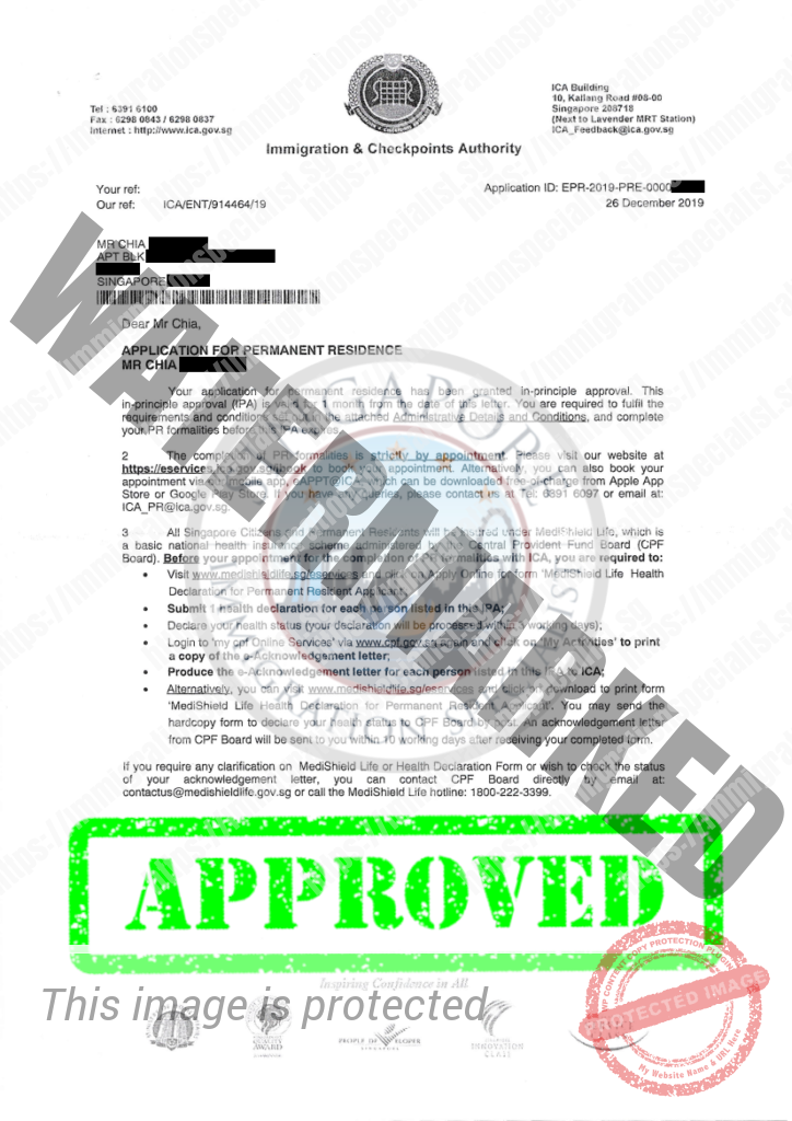 ICA Approval Letter 12