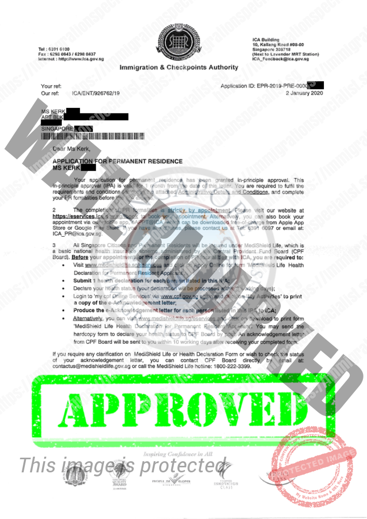 ICA Approval Letter 14