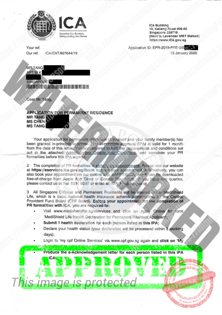 ICA Approval Letter 17