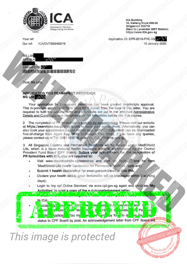 ICA Approval Letter 18