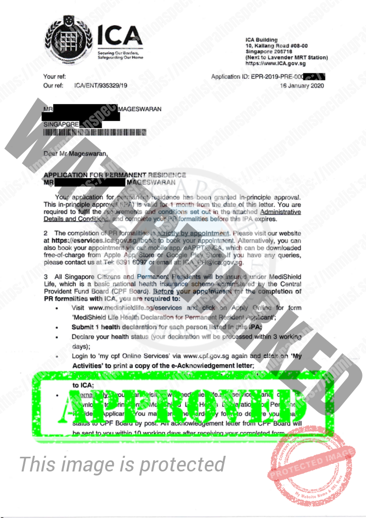 ICA Approval Letter 19