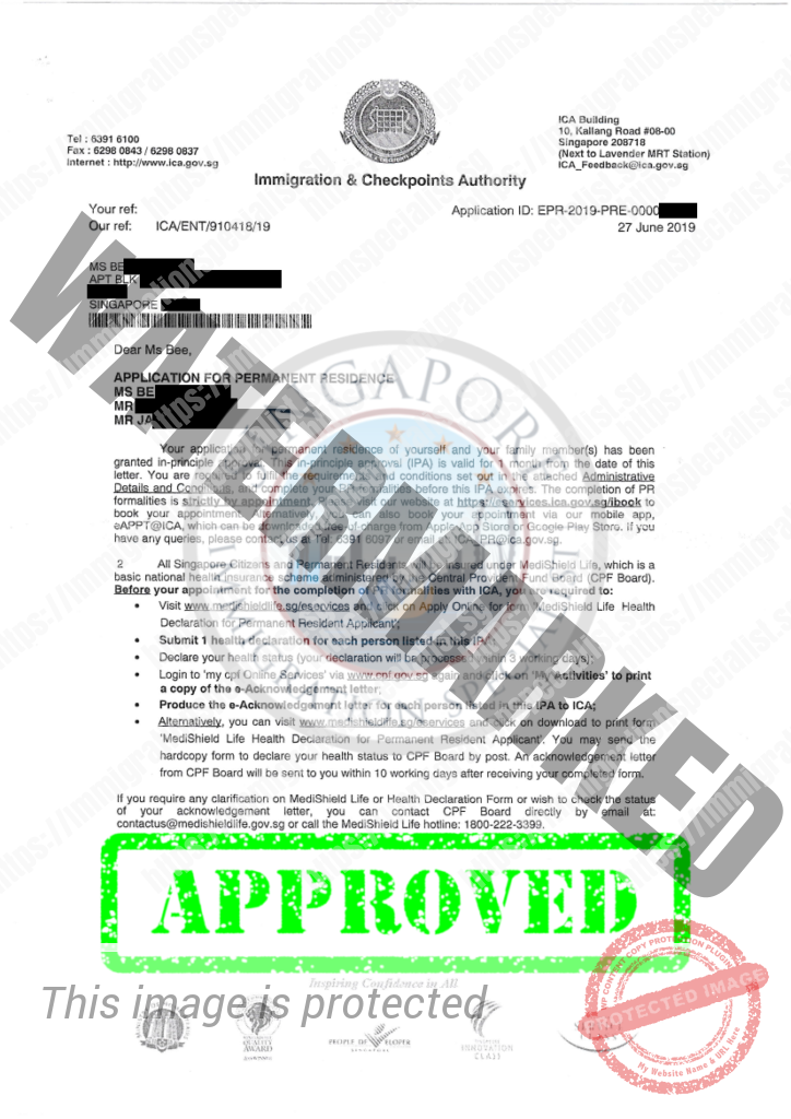 ICA Approval Letter 2