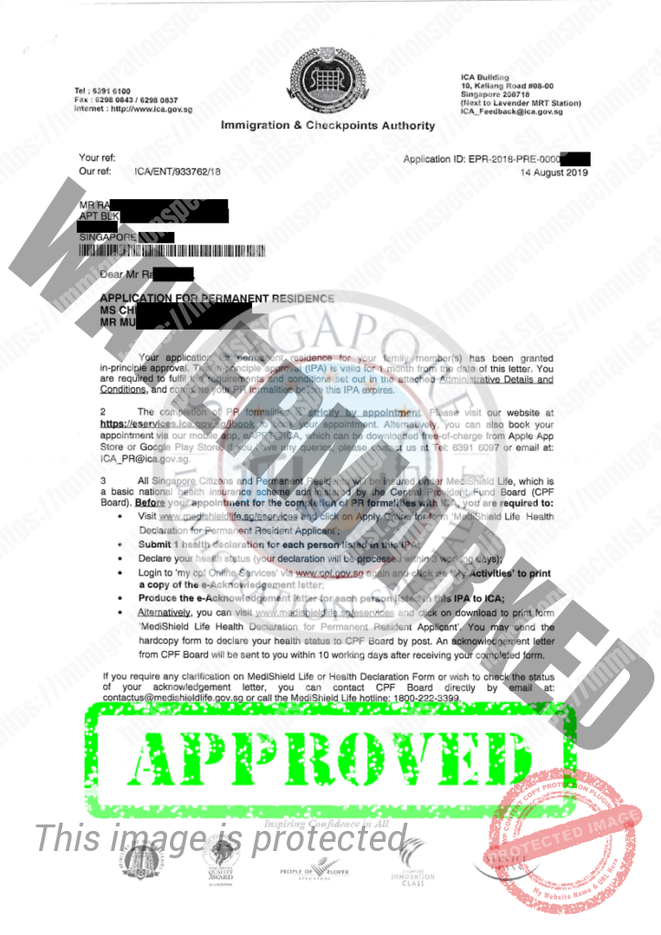 ICA Approval Letter 3
