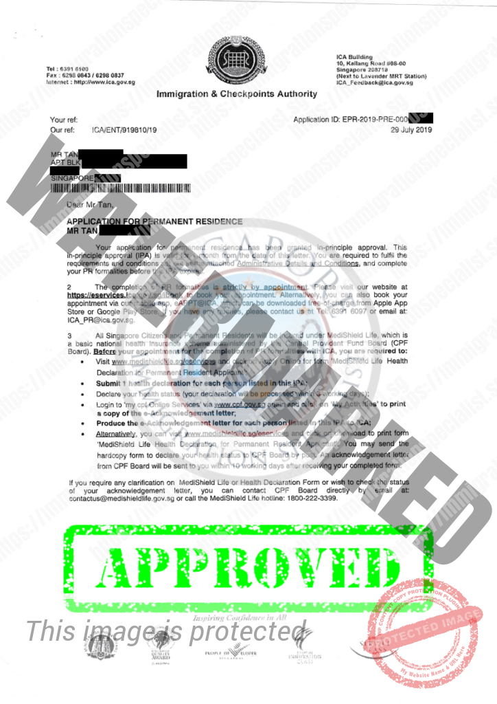 ICA Approval Letter 4
