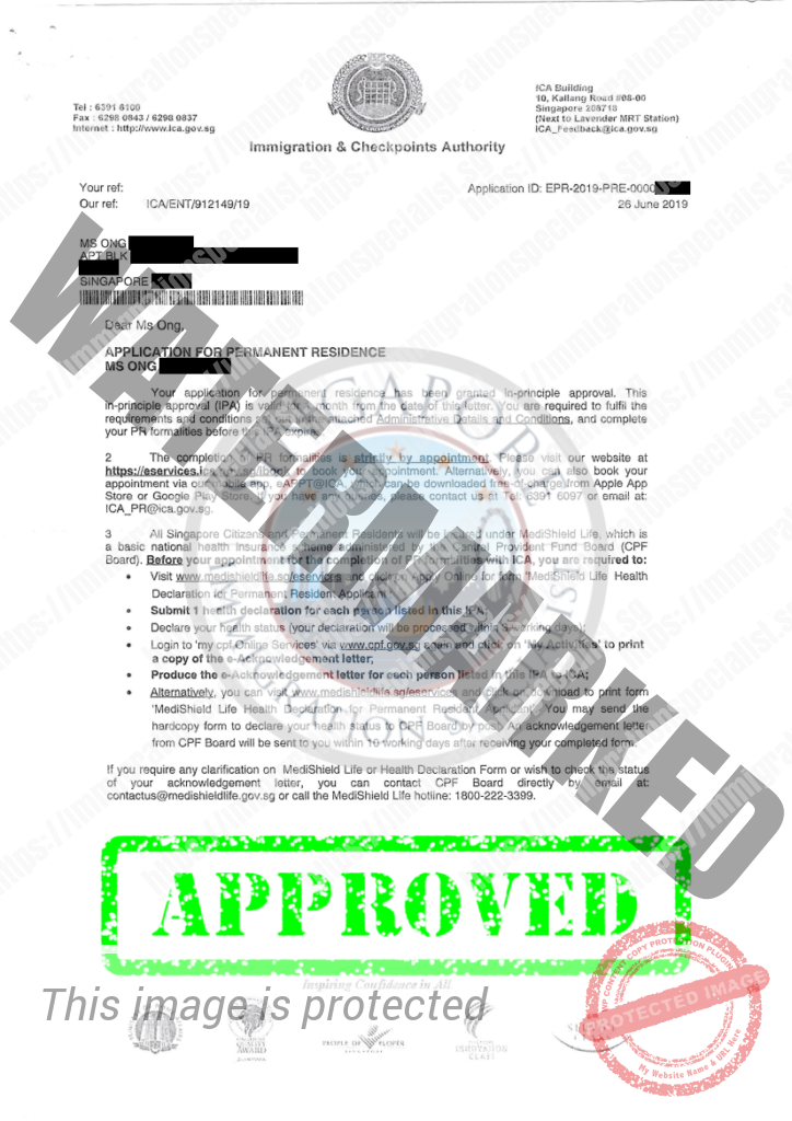 ICA Approval Letter 5
