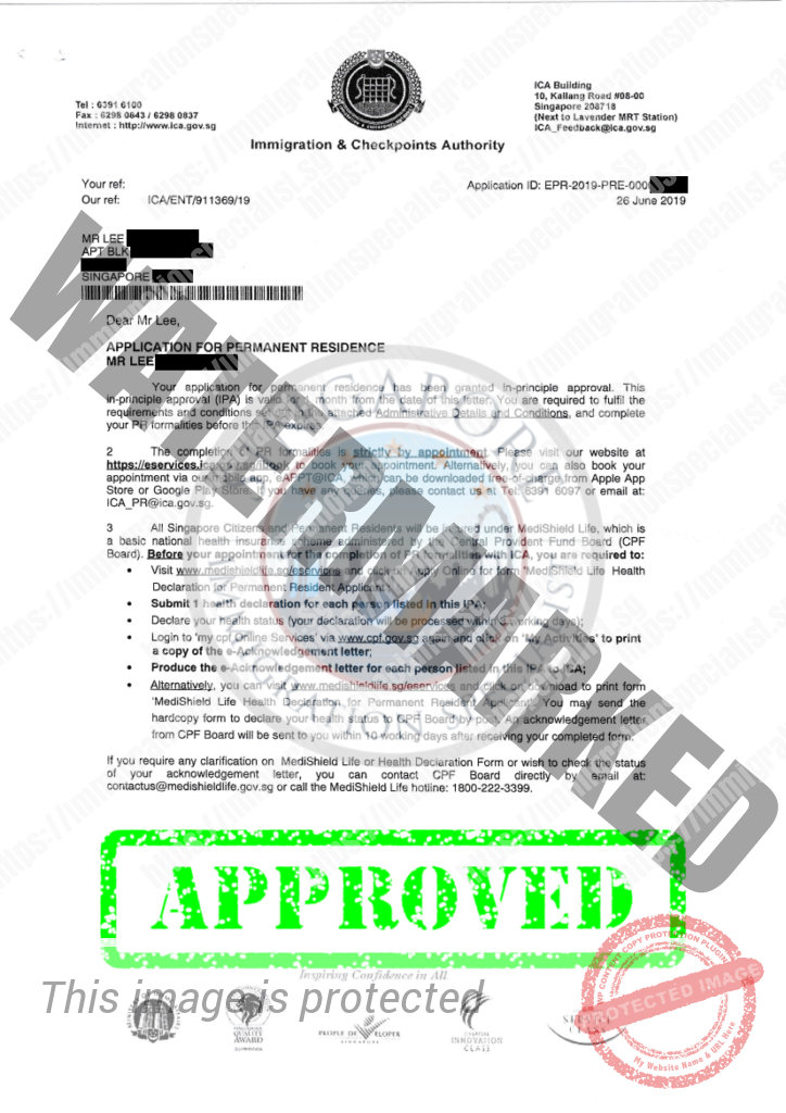 ICA Approval Letter 7