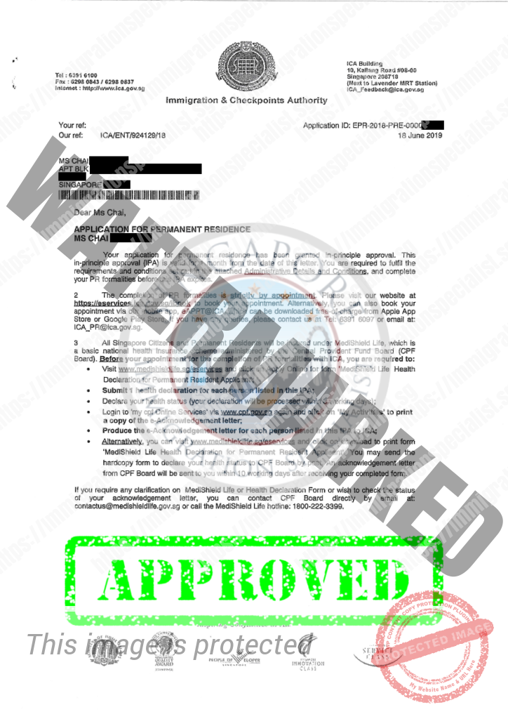 ICA Approval Letter 8