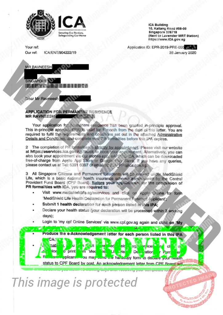 ICA Approval Letter 20