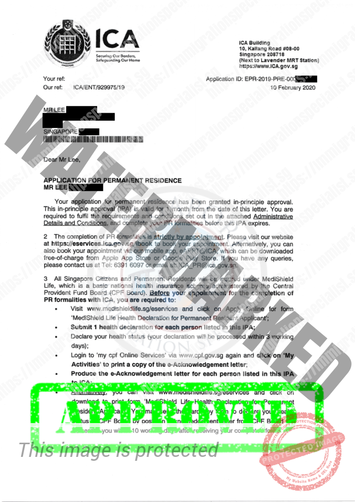 ICA Approval Letter 21