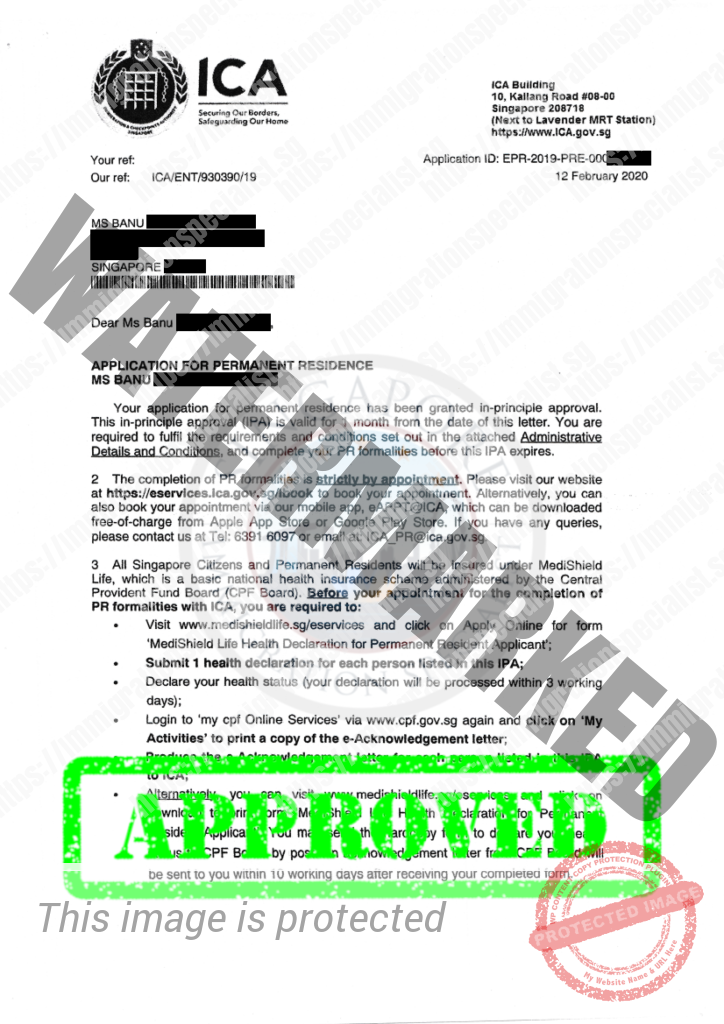 ICA Approval Letter 22