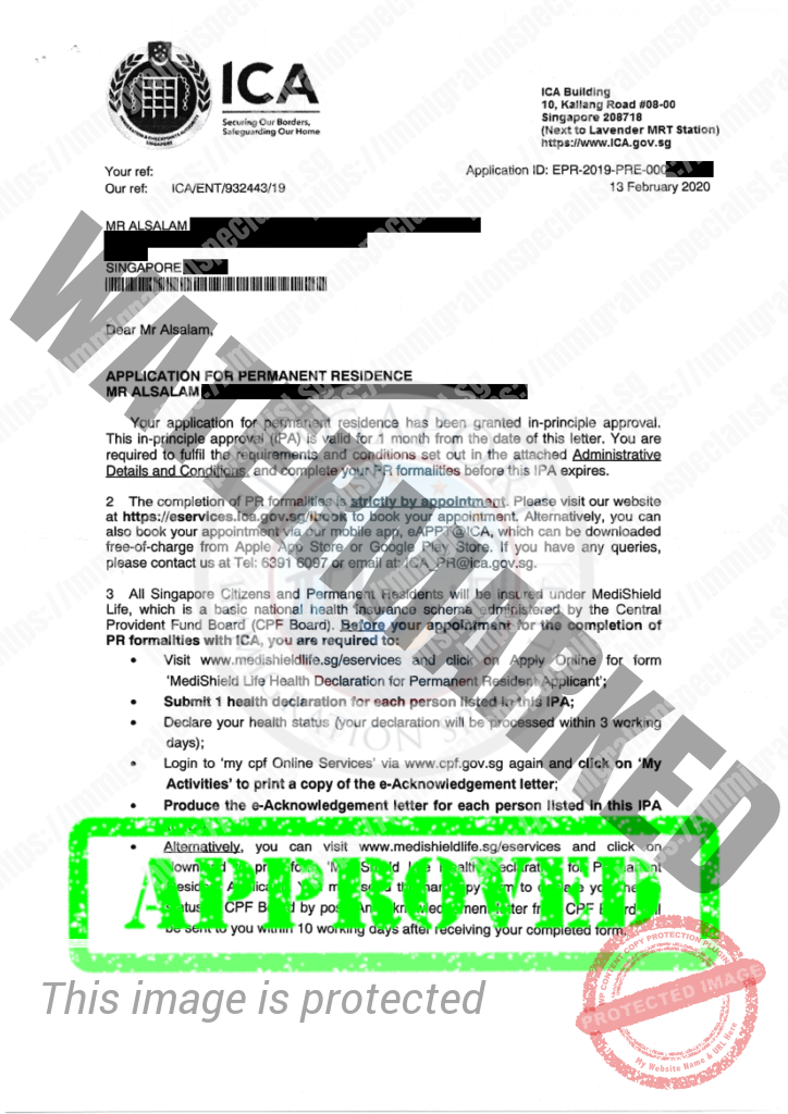 ICA Approval Letter 23