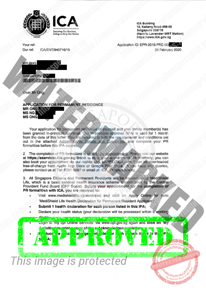 ICA Approval Letter 24